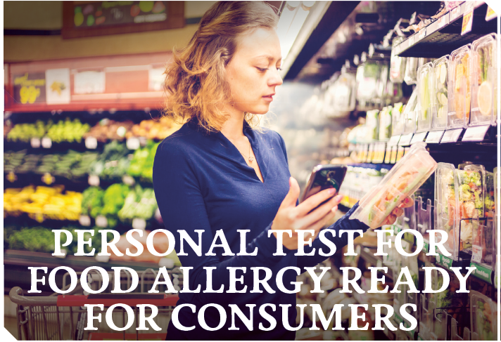 News 2038: Personal test for food allergy ready for consumers