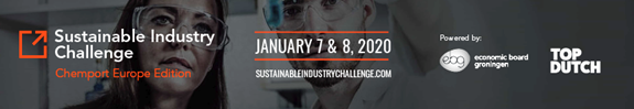 7&8 January 2020: Sustainable Industry Challenge – Chemport Europe edition